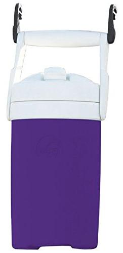 Igloo Sport Cooler with Hooks, Purple, 1/2 gal