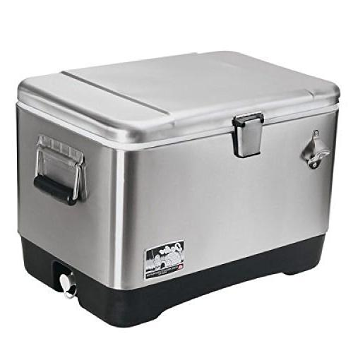 corporation 00044669 stainless steel cooler
