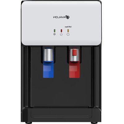 Avalon Self Cleaning Bottleless Cooler Dispenser, White