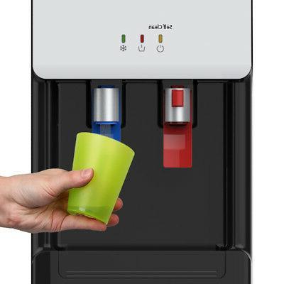 Avalon Countertop Cleaning Bottleless Water Dispenser, White