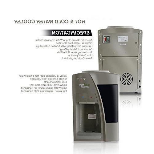 Dispenser - & Cold Water, 3 or 5 - PKTW20SL