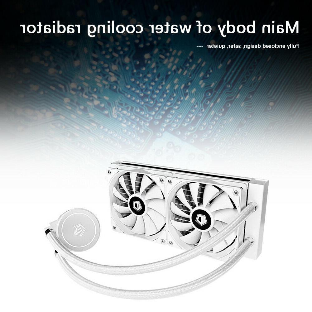 CPU Water Cooler 4 Cooling Case LGA 2011 C#P5