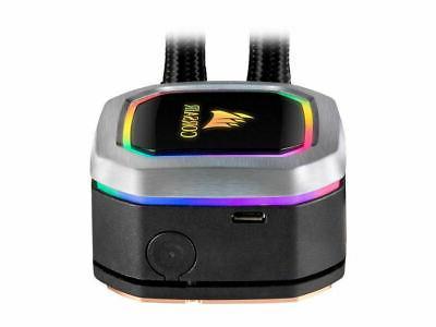 Corsair CW-9060039-WW H100i RGB PLATINUM Cooler