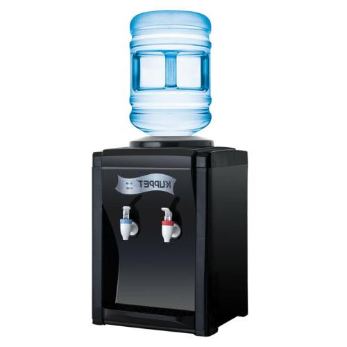 Top Loading Electric Countertop Hot and Cold Water Cooler Di