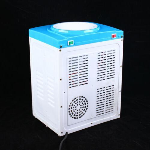 Desktop Electric Hot Cold Water Cooler Dispenser Counter Top Home