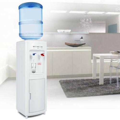 electric 5 gallon water cooler dispenser hot