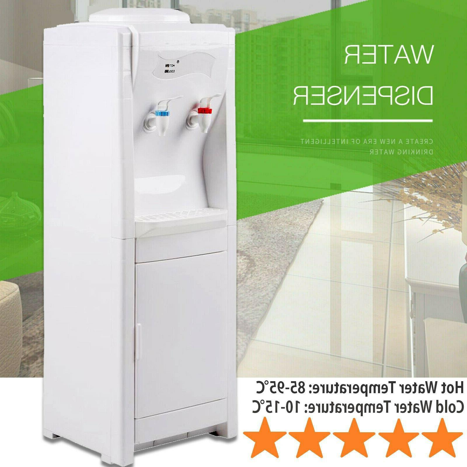 electric water cooler dispenser stainless steel hot