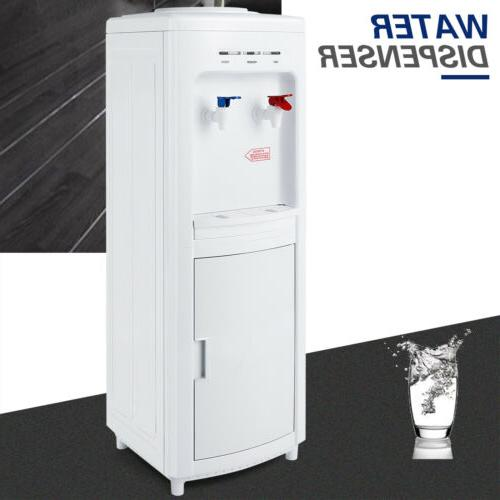 freestanding water hot cold dispenser top load