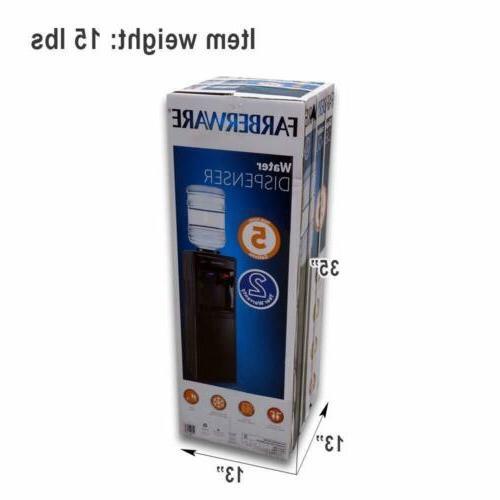 Farberware Freestanding and Water Dispenser,-Top