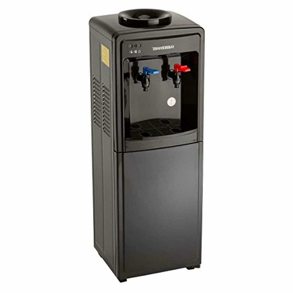 Farberware Freestanding and Cold Dispenser, Black