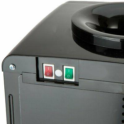 Home Tank Cold Water Dispenser Black