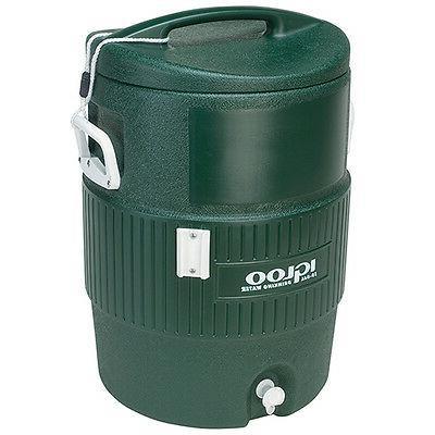 Igloo Water Cooler, Green - 10 Gallon