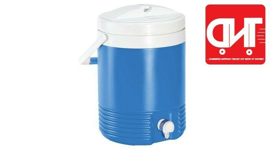 Igloo Beverage Cooler Blue 2 Gallons