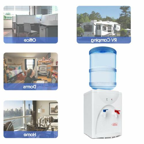 Electric Hot and Water Cooler 3-5 Gallon Desktop