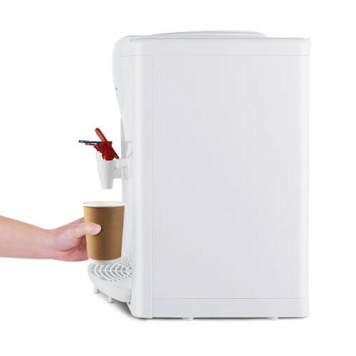 Home Office Hot Water Cooler Dispenser White