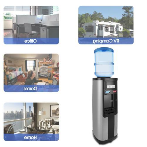 Home Cold Cooler Dispenser Top Loading Gallon
