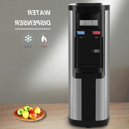 Home Electric Hot Cold Cooler Dispenser Top Bottle Loading Gallon