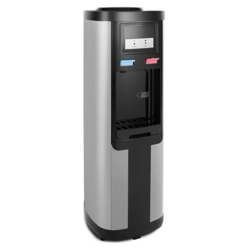 Hot/Cold Water Cooler Dispenser 5 Electric Child Safety Lock
