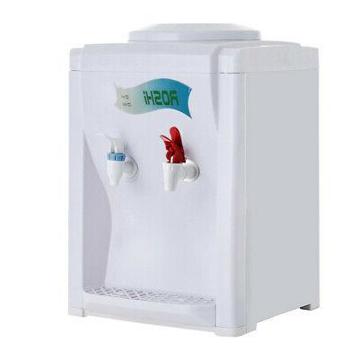 Hot Cold Water Dispenser Free Standing 5 Gallon Top Loading Office