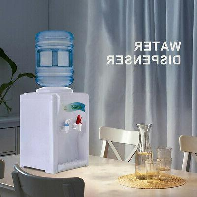 Electric Hot Cold Water Cooler Dispenser 5Gallon Top Loading