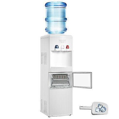 hot cold water cooler dispenser w built