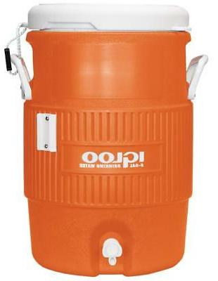 Ice Water Cooler Jug 5 Gallon Insulated Outdoor