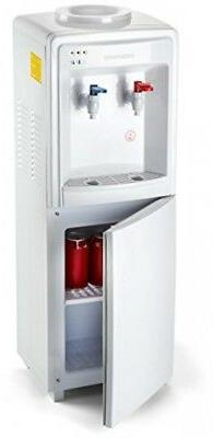 Instant Hot Cold Water Cooler Dispenser with Storage for 3 o