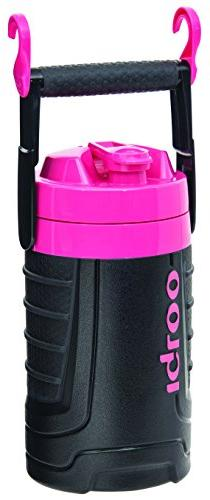 Igloo 1/2 gallon Insulated Hydration Jug, Black / Hot Rod Pi