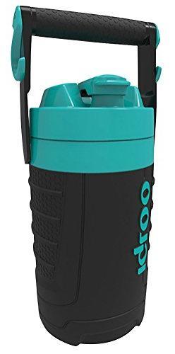 Igloo 1/2 gallon Insulated Hydration Jug, Black/Tantalizing