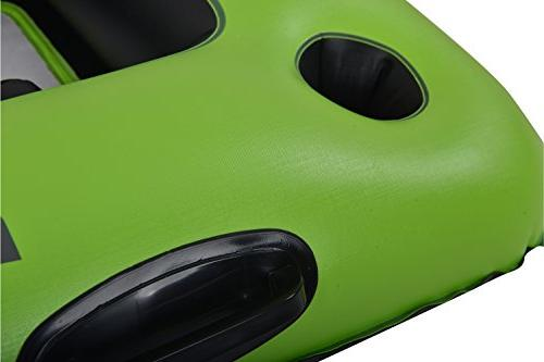 Blue Layzriver Inflatable Green/Black, 44