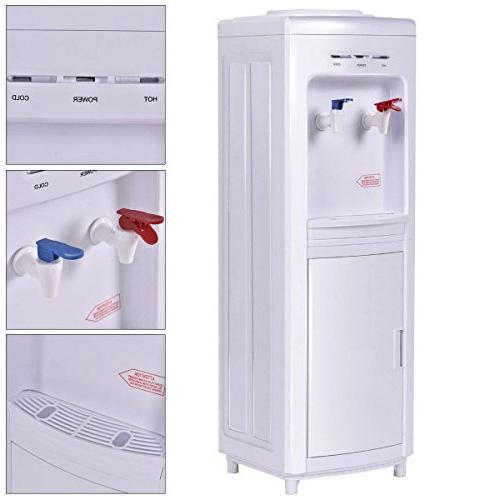 Giantex Water Cooler Dispenser 5 Normal Water Hot Primo
