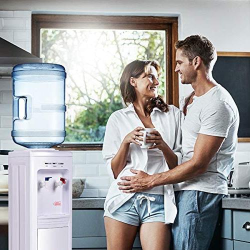 Giantex Water Cooler 5 Gallon Normal Temperature Hot Primo Home