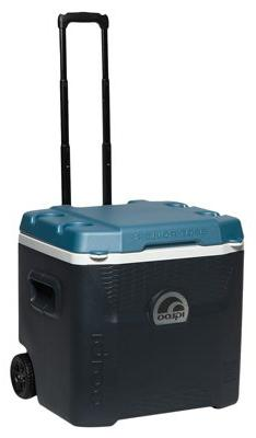 Igloo Max Cold Quantum 52 Quart Roller Cooler, Jet Carbon/Ic