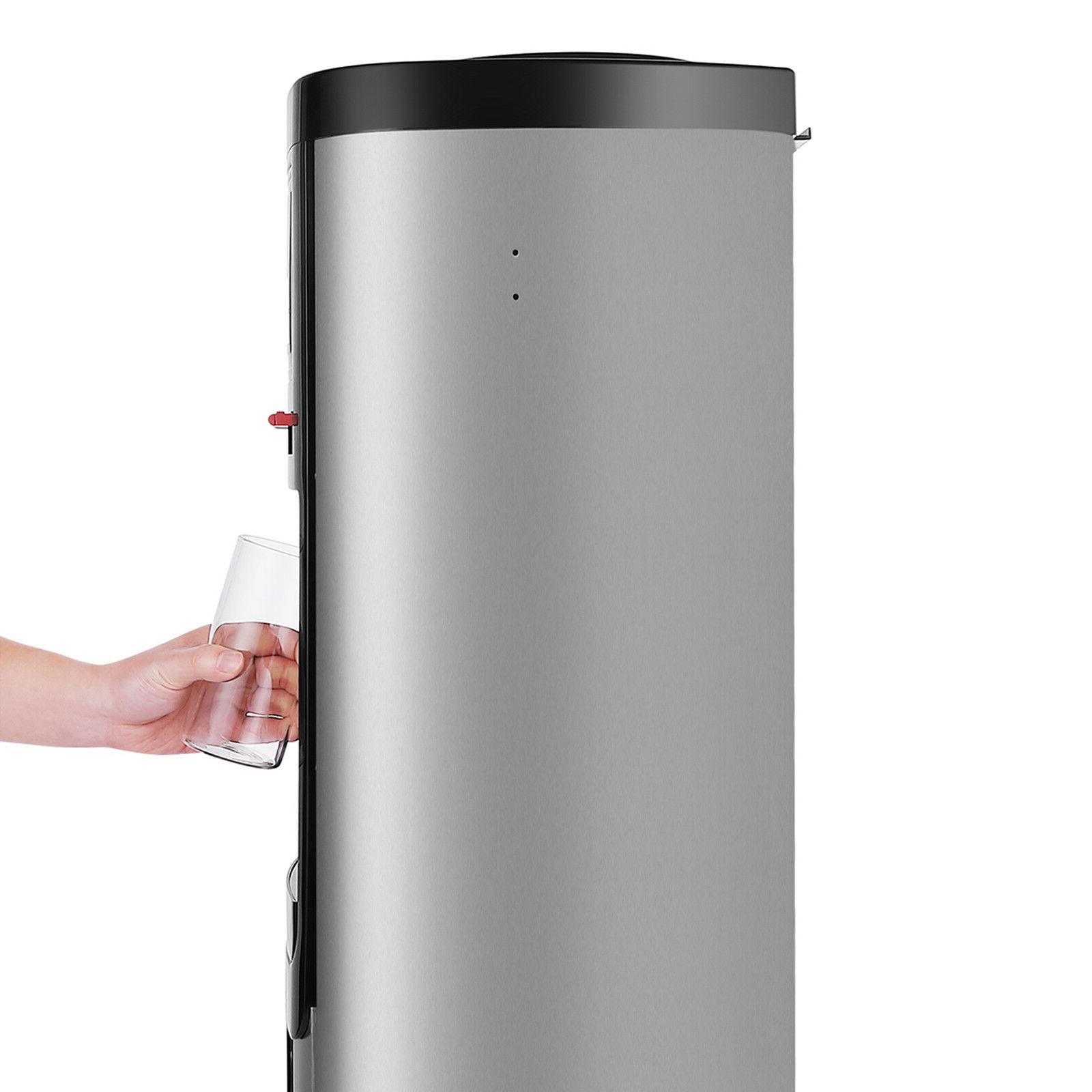 New Loading Water Cooler Hot Cold Safety Lock