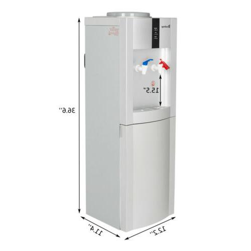 NEW Water Cooler Dispenser Filter Top Freestanding US