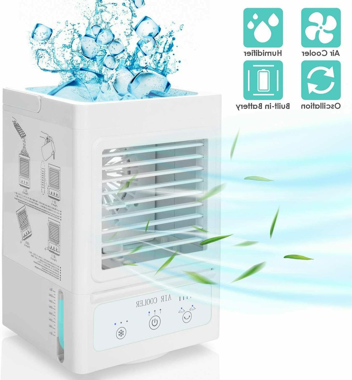 portable fan cooler air box fan w