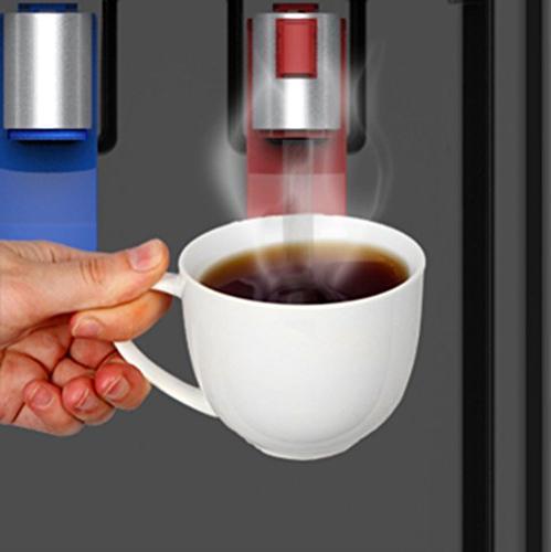 Loading Water Dispenser - Hot & Water, Child Safety Lock, Innovative Slim 3 or 5 Bottles - UL/Energy