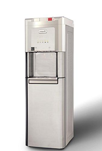 Whirlpool Self Cleaning, Loading Commercial Water with Chilled