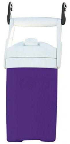 Igloo Sport Cooler with Hooks Purple 1/2 gal Travel Camping