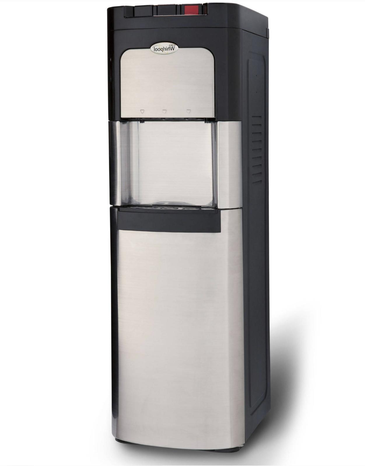stainless steel bottom load water dispenser water