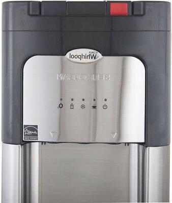 Whirlpool Steel Dispenser Self Clean, LED