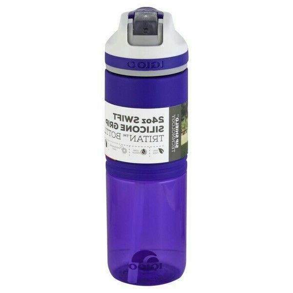 Igloo Swift Water Bottle, Aqua/Asphalt, 24 oz