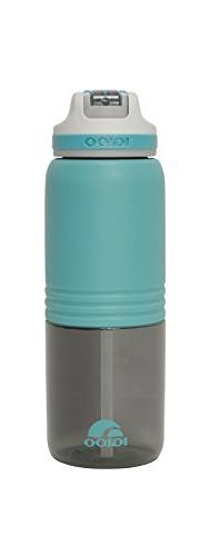 Igloo Swift Water Bottle, Aqua/Asphalt, 36 oz