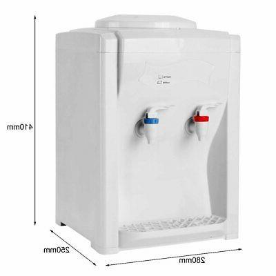 3-5 Gallon Hot Cold Water Cooler Dispenser Desktop