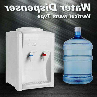 3-5 Gallon Electric Hot Cold Water Cooler Dispenser Desktop