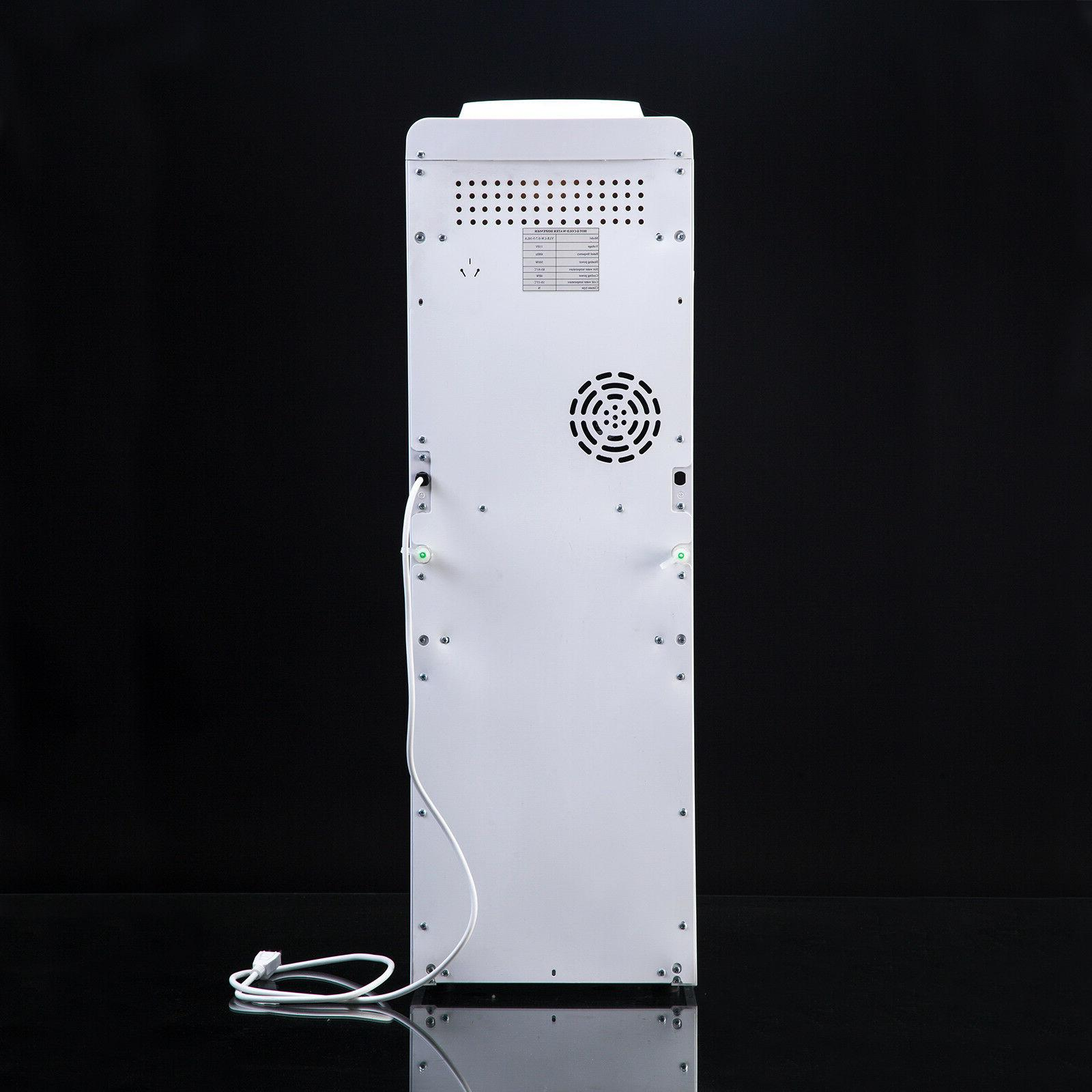 Top Loading Dispenser Electric White