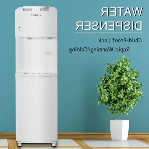 top loading water cooler dispenser hot cold