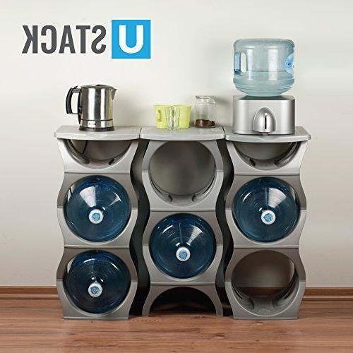 U-STACK Water Rack - 5 Gallon Water Coolers