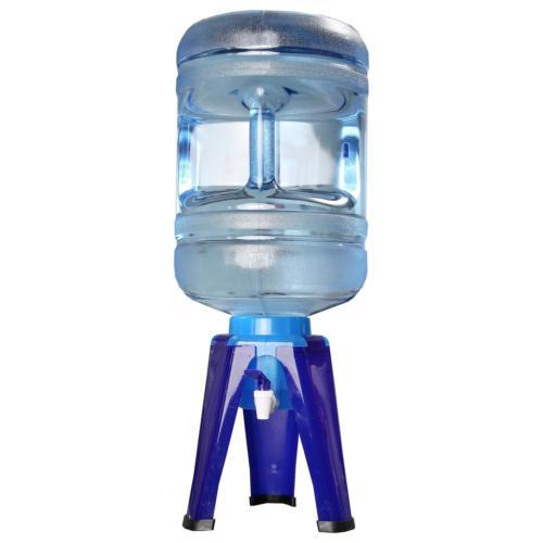 water bottle dispenser stand