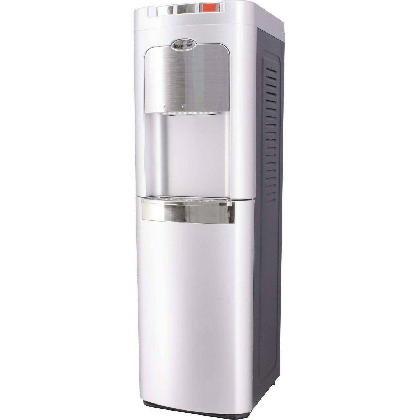 water cooler dispenser bottom load hot cold